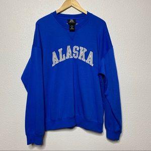 Ace XL Alaska Blue Sweater Vacation Travel Local